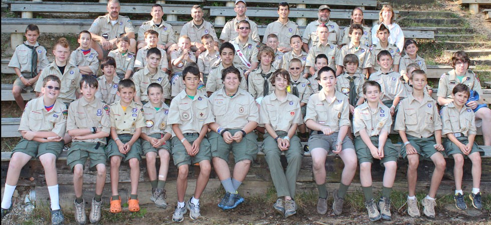 Camp Ottari 2012 - Scouts and Leaders