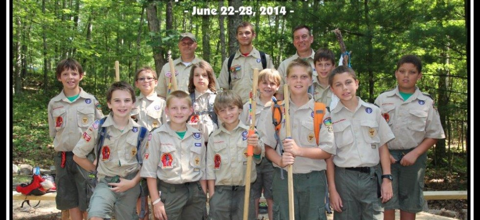 Troop 250 BSI Class - Camp Ottari 2014