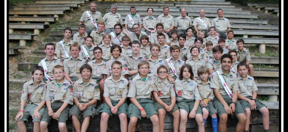 Troop 250  - Camp Ottari 2014