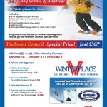 Troop 250 Winterplace Ski Trip, 2/20 – 2/21